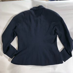 CHANEL Jackets & Coats - VINTAGE authentic CHANEL navy wool JACKET size LRG